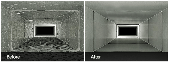 Air Vent Cleaning Before & After Second