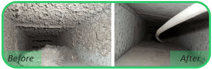 Air Duct Before & After